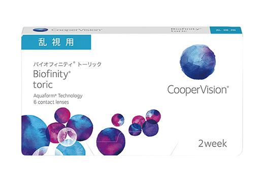バイオフィニティ トーリック [6枚入り] 製品画像