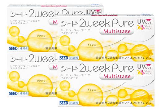 2Week Pure マルチステージ [6枚入り ×4箱]